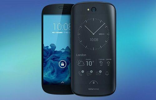 Çift ekranlı akıllı telefon YotaPhone 2'nin Türkiye fiyatı belli oldu