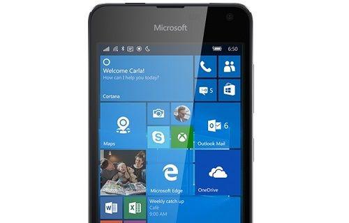 Microsoft Lumia 650 bir kez daha göründü
