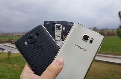 LG V10, LG G4 ve Galaxy Note 5 ''4K'' Video Karşılaştırma