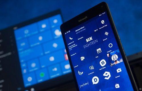 Windows 10 Mobile Güncellemesi 2016'ya Kaldı