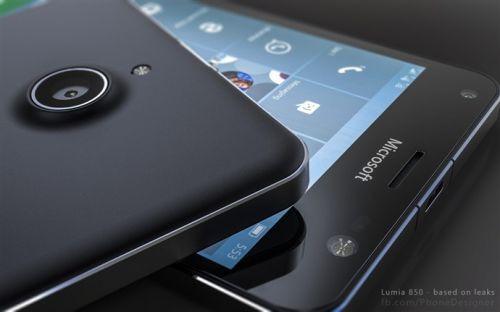 Sızıntılara dayalı olarak oluşturulan harika Microsoft Lumia 850 konsepti