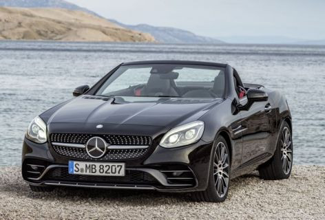 İşte Mercedes'in yeni SLC modelleri (Video)