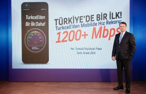 Turkcell 4.5G'de 1200 Mbps hıza ulaştı, 5G'nin kapısını araladı