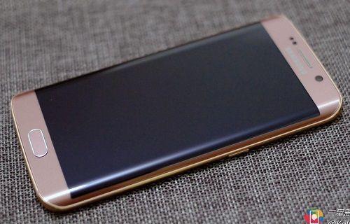 Pembe Altın Renkli Galaxy S6 Edge+