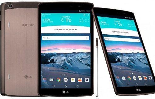 LG'nin Yeni Tableti ''G Pad II 8.3 LTE'' Resmiyet Kazandı