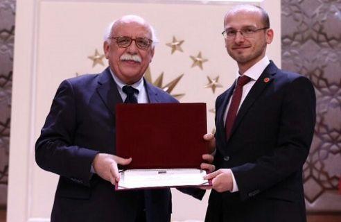 TÜBİTAK MARTEK'e Milli Eğitim Bakanı Nabi Avcı'dan ödül