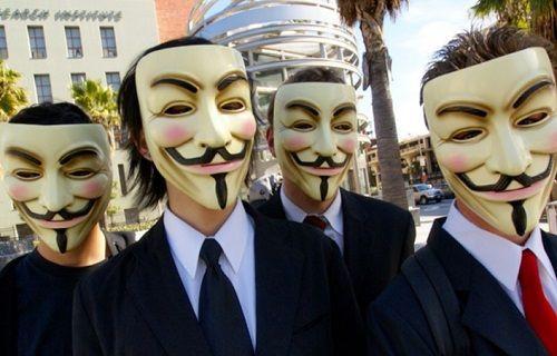 Dünyaca ünlü hacker grubu Anonymous Türkiye'ye savaş açtı
