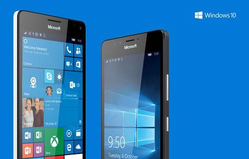 Microsoft, Lumia 950 ve 950 XL için güncelleme başlattı
