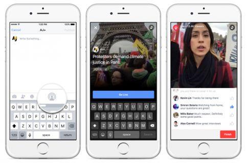 Facebook ''Live'' ile canlı yayın yapmaya başlayabilirsiniz.