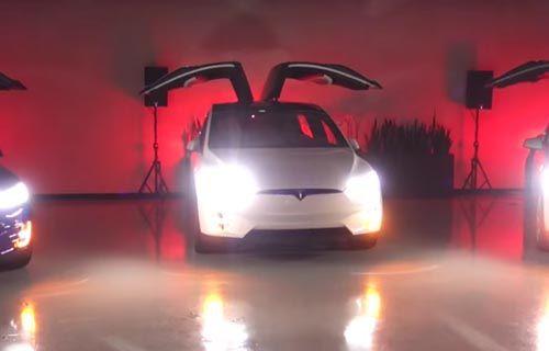 Tesla Model X SUV için ilginç tanıtım filmi! (Video)