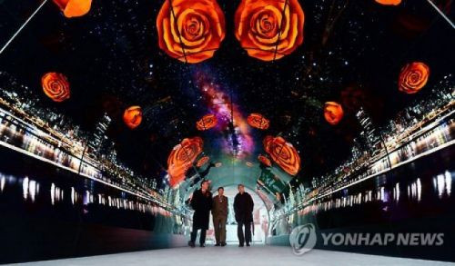 LG, Seul Kulesi'ne OLED TV'lerden oluşan bir tünel yaptı