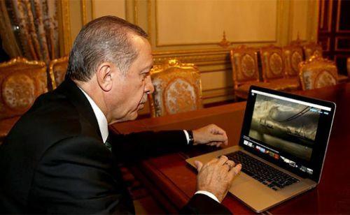 Cumhurbaşkanı Erdoğan'a özel Apple Mac