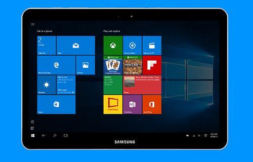 Samsung 12 inçlik Windows tablet hazırlıyor
