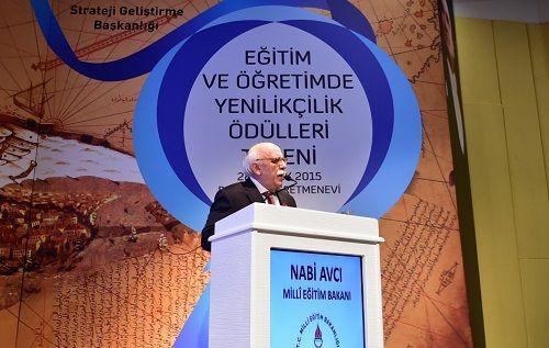 Bakan Avcı, Eğitim ve Öğretimde Yenilikçilik Ödülleri'ni verdi