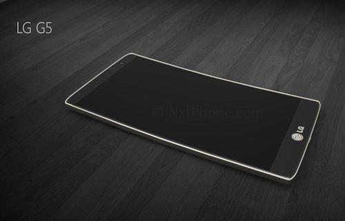 LG G5'te çift ekran ve çift kamera yer alacak