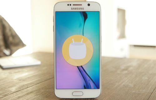 Android 6.0 Marshmallow ile çalışan Galaxy S6 ve Galaxy S6 Edge fotoğrafları