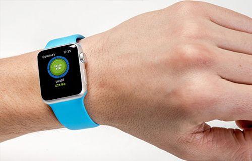 Apple Watch üzerinden pizza sipariş edin