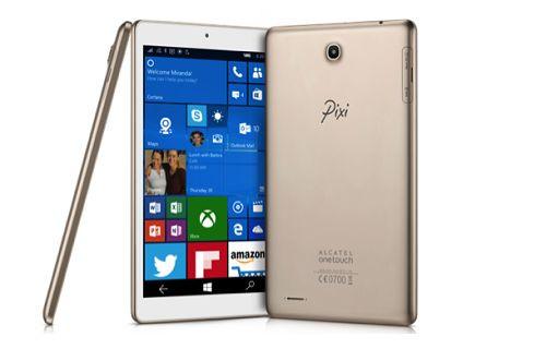 CES 2016: Alcatel'den Windows 10 Mobile ile çalışan tablet