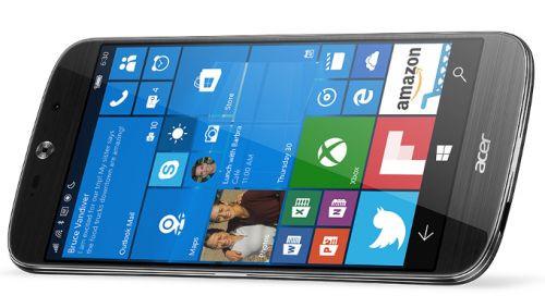 CES 2016: Acer Windows 10'lu yeni telefonunu tanıttı