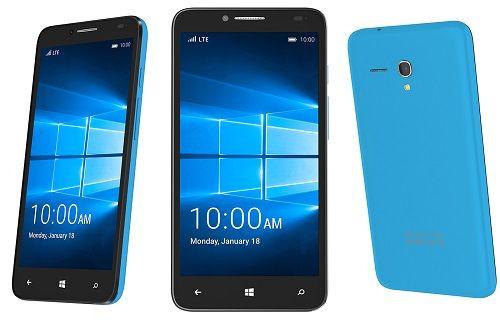 CES 2016: Alcatel, OneTouch Fierce XL ile Windows 10 Mobile platformunda