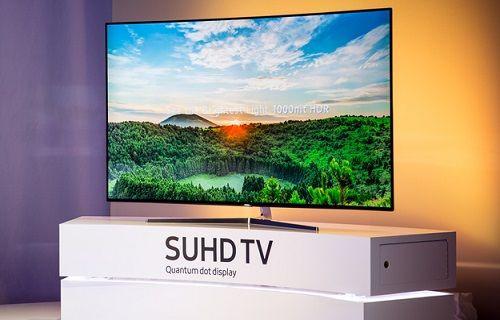 CES 2016: Samsung'dan Ultra ince çerçeveli 4K TV