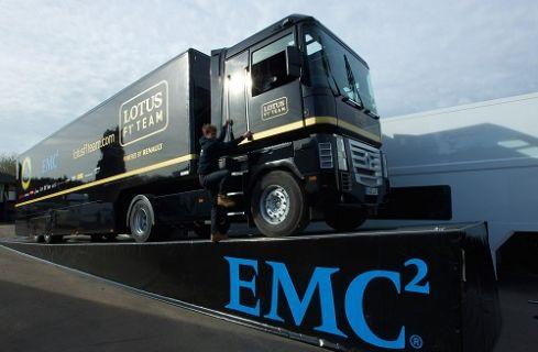 EMC'nin Bütünleşik Altyapısı Lotus F1 Takımını En Üst Vitese Taşıdı