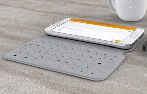 Galaxy S6 ve S6 Edge'e özel klavyeli kılıf