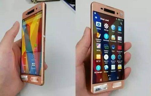 Gül altın renkli  yeni bir Sony Xperia telefona ait görüntüler sızdı