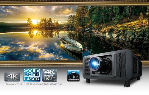 Panasonic dünyanın en hafif 4K projektörü  PT-RQ13K'yı tanıttı!