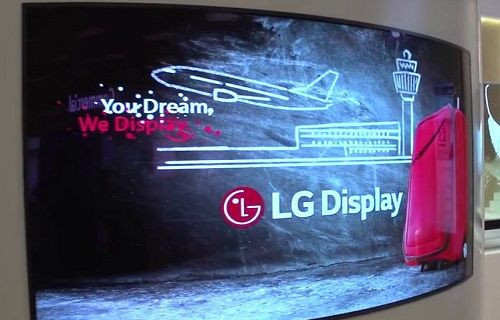 LG çift taraflı kavisli 4K OLED televizyonu CES 2016'da sergiledi