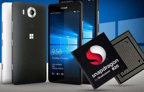 Microsoft, Snapdragon 820 işlemcili bir akıllı telefon hazırlıyor
