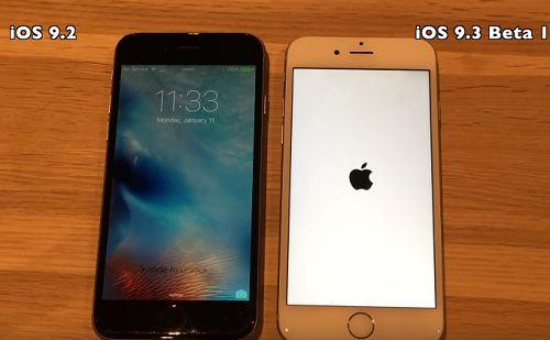 iOS 9.3 beta ve iOS 9.2 hız testi [Video]