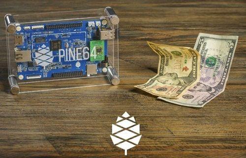 15$ fiyatlı dünyanın ilk 64-bit mini bilgisayarı: Pine A64