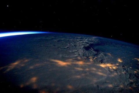 Uzaydan çekilen büyük kış fırtınası fotoğrafları