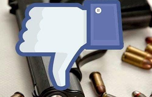 Facebook üzerinden silah satışı yasaklandı