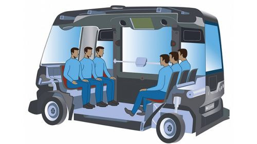 Şimdi de sürücüsüz otobüs geliştirildi (Video)
