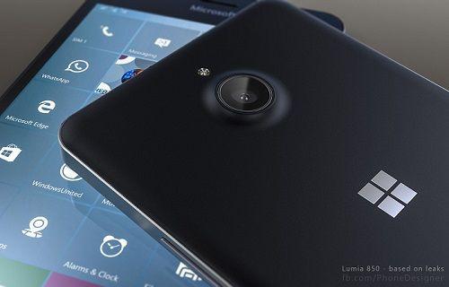 Microsoft Lumia 850 sızıntıları kaldığı yerden devam ediyor