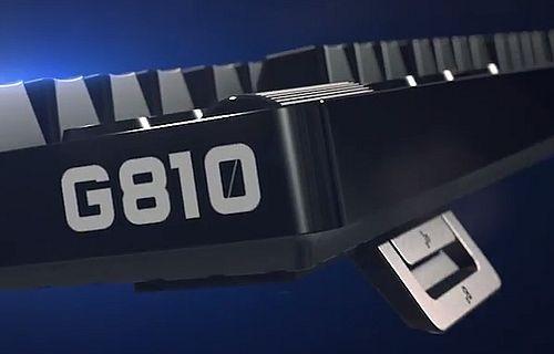 Logitech G810 Orion Spectrum Tanıtıldı