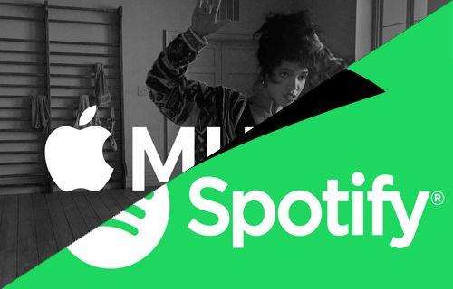 Apple Music ile Spotify Karşılaştırması