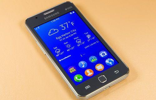 Samsung Z1 güncellendi