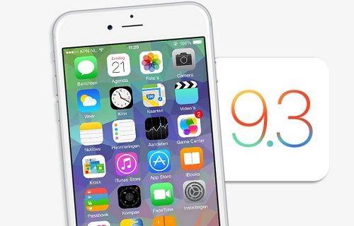 Apple, iOS 9.3 beta 3 dağıtımını başlattı