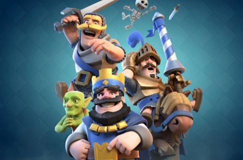 Clash of Clans yaratıcıları yeni oyunları Clash Royale duyurdu!