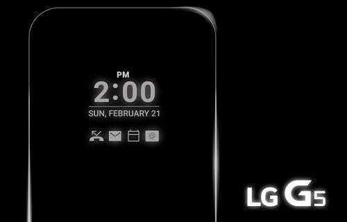 LG G5: İşlemci ve RAM belli oldu