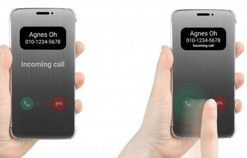LG G5'e eşlik edecek pencereli Quick Cover kılıf ve detayları