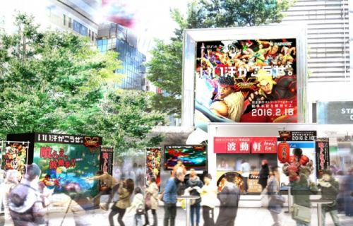 Tokyo'da Street Fighter için restoran açılacak!