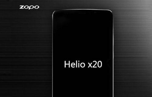 Helio X20 işlemcili ilk telefon belli oldu