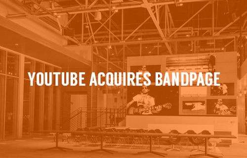 Google, YouTube için BandPage'i satın aldı