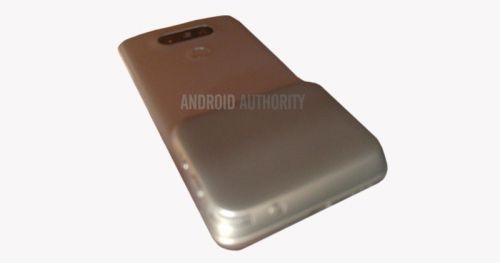 LG G5'in arkasına ne kondu?