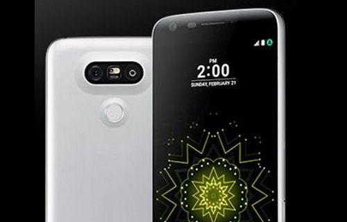 Bu defa LG G5'in basın görüntüsü yayınlandı