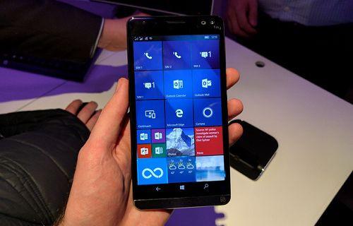 HP'nin süper telefonu Elite x3 devasa bir pile sahip olacak